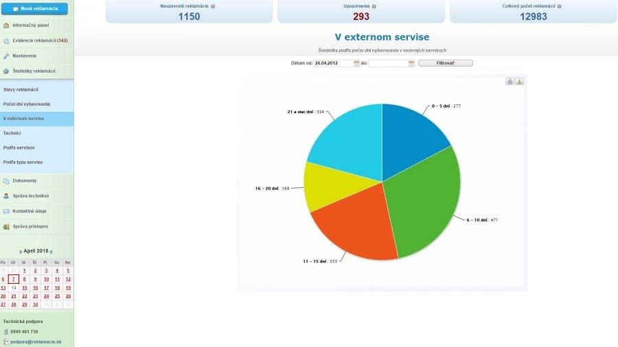 54b2d1cf032d Detail reklamácie  Informačný panel  Prehľad reklamácií ...